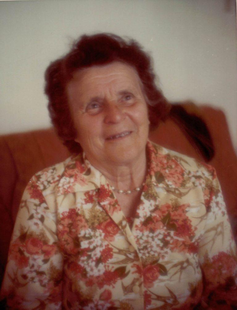 My baba, Pauline (nee Hewko) Fill